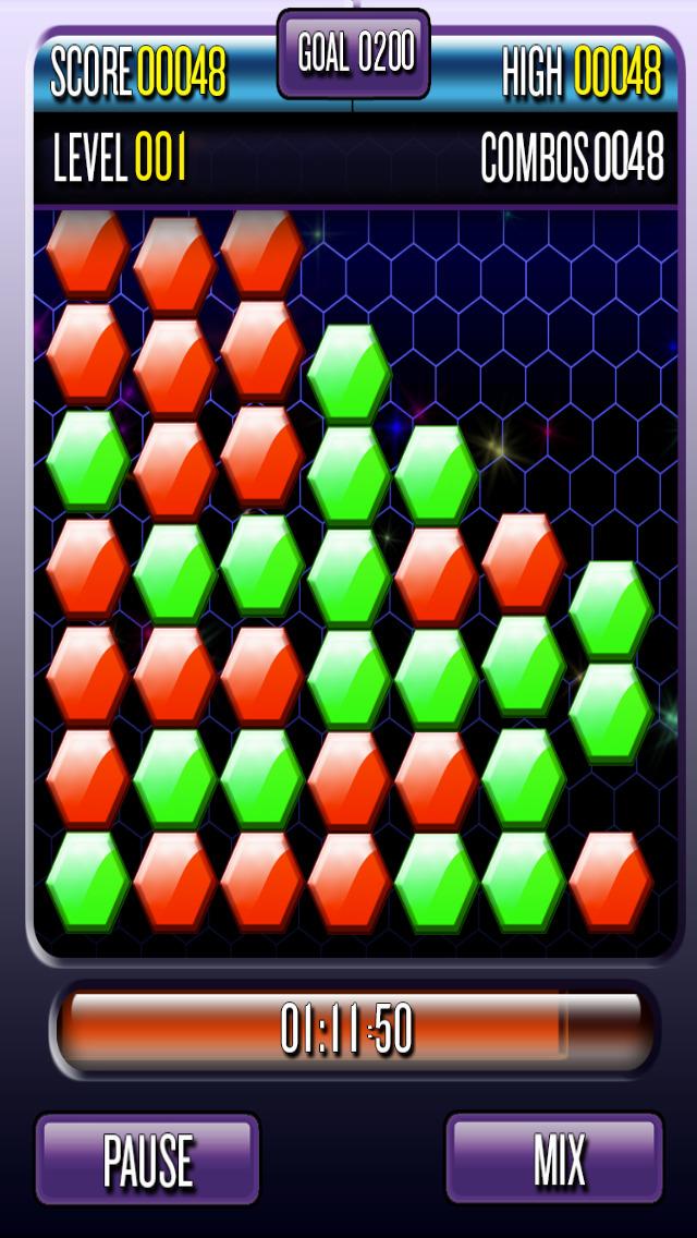 Hex Crush screenshot 1