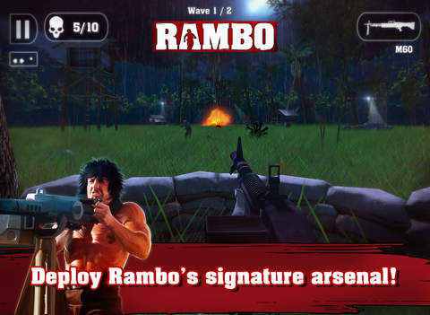 Rambo - The Mobile Game screenshot 10