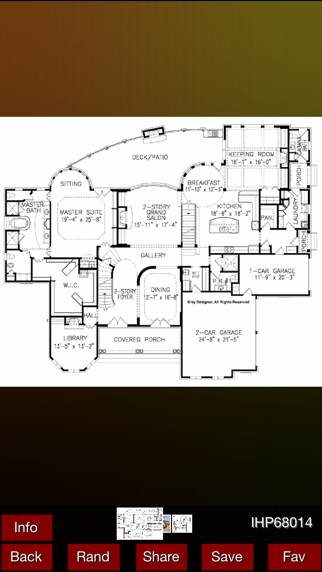 Italianate House Plans screenshot 1
