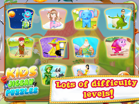 Kids Jigsaw Puzzle. screenshot 10