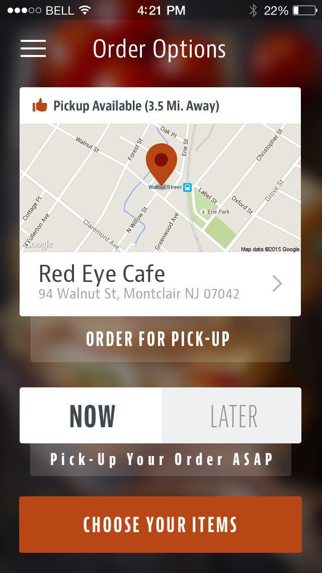 Red Eye Cafe screenshot 2