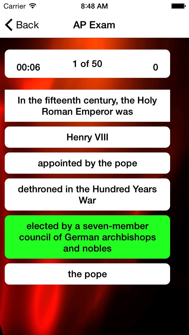 AP European History Prep 2020 screenshot 5