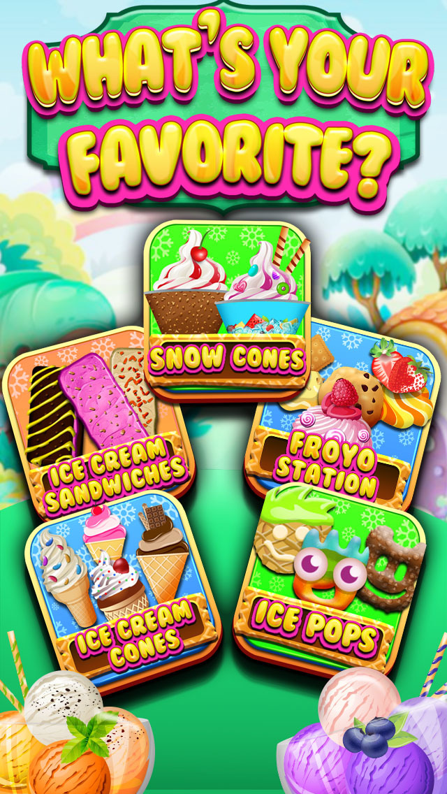 """ A Froyo King Mogul – Frozen Yogurt Customizer Dessert Maker Mania Free screenshot 2"