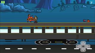 Amazing Girl Zombie Slayer Pro - Best running and fighting game screenshot 1