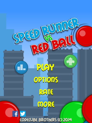 Speed Runner vs Red Ball FREE screenshot 8