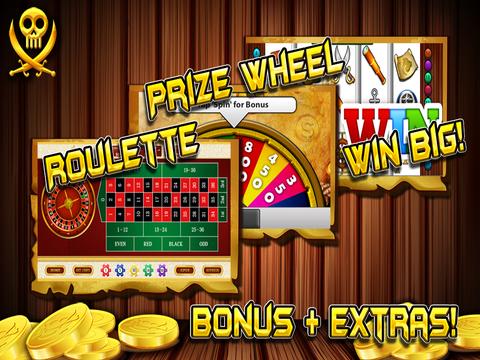 `Ace Pirates Gold Treasure Loot Chest Casino Slots screenshot 7