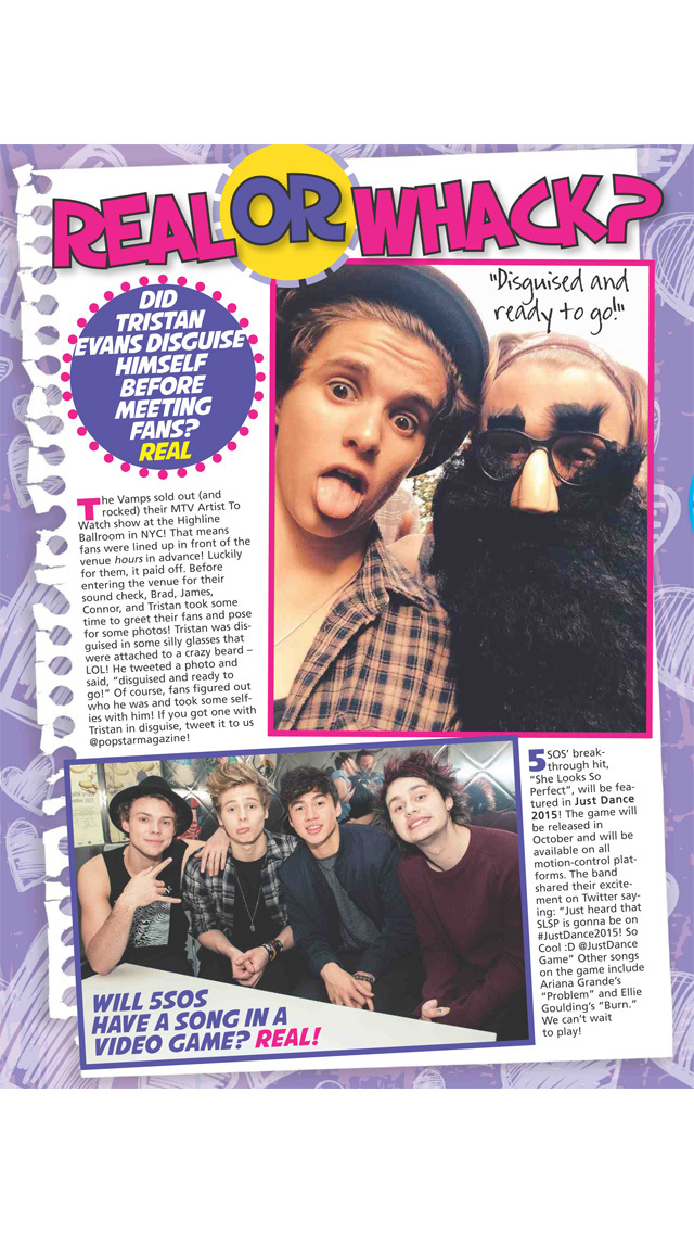 Popstar! Magazine screenshot 3