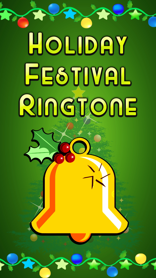 Holiday Ringtones Festival - Christmas Carols & New Year Ringtones Festival screenshot 1