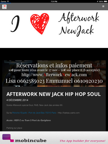 Afterwork Newjack screenshot 6
