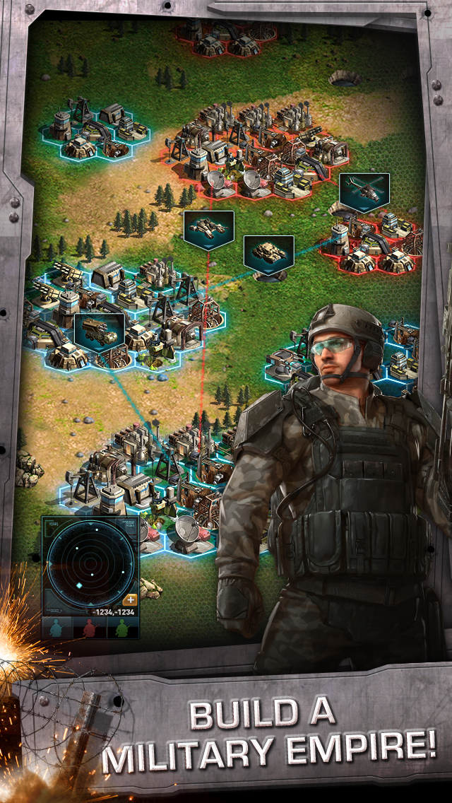 War of Nations™ - PVP Strategy screenshot 1