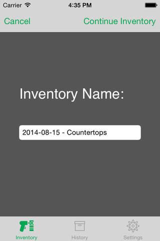 Moraware Inventory Scanner - náhled