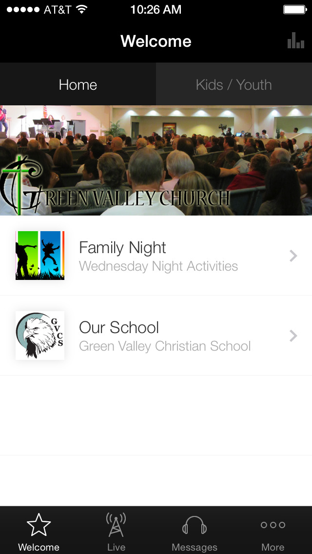 Green Valley Christian Center screenshot 1