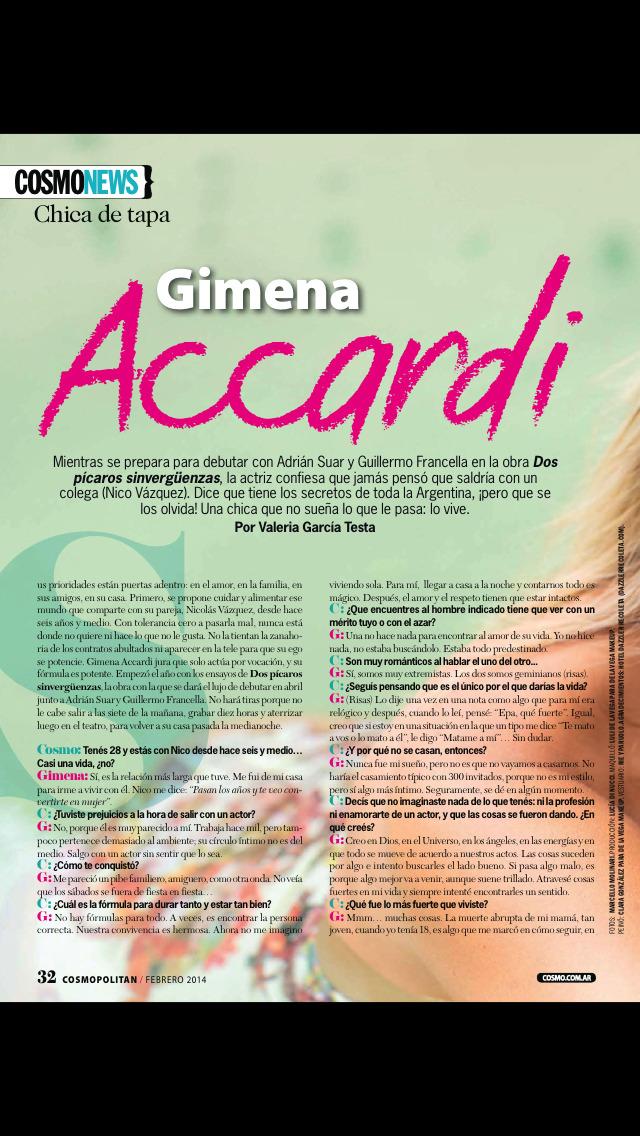 Cosmopolitan Argentina screenshot 3