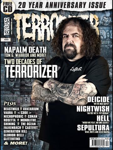 Terrorizer Magazine screenshot 6