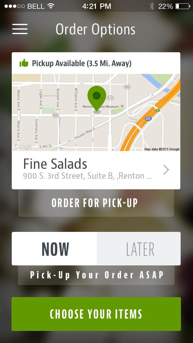 Fine Salads screenshot 2