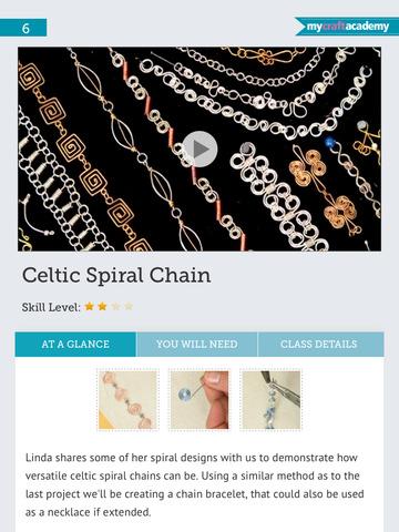 Make chainmaille jewellery screenshot 10