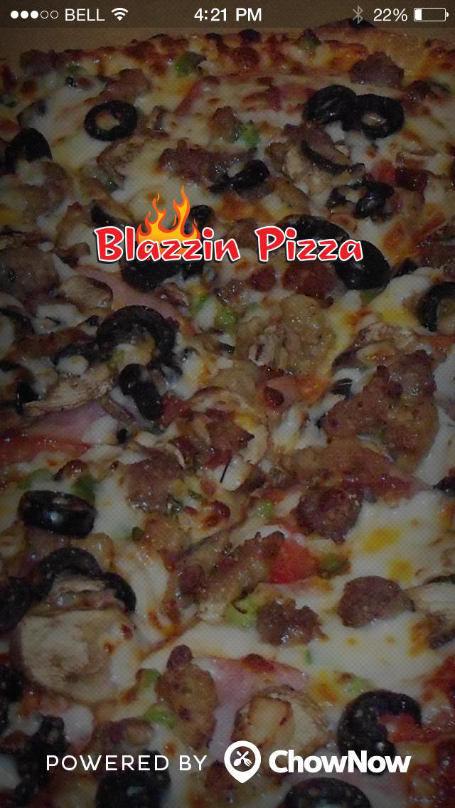 Blazzin Pizza screenshot 1