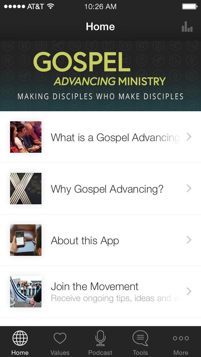 Gospel Advancing Ministry screenshot 1