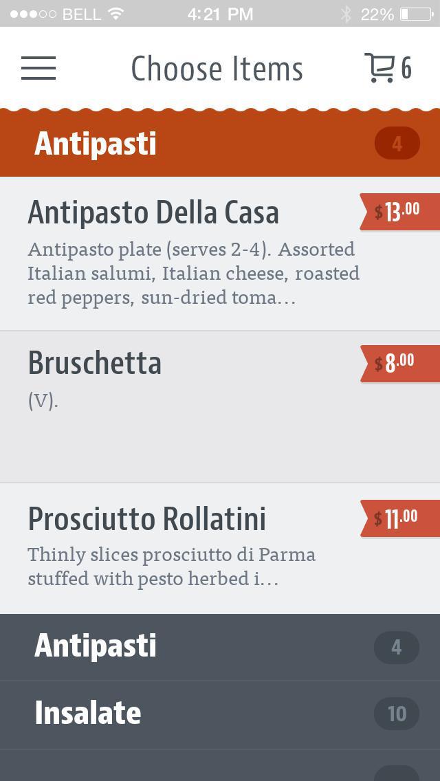 Osteria Procaccini screenshot 3