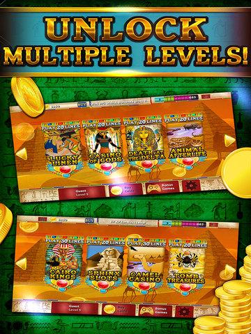 Pharaoh's Party Jackpot Casino - Social Slots Supreme (3D Crack Xtreme Craze) screenshot 8