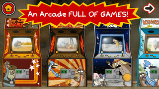Just a Regular Arcade – A Sweet Suite of Regular Show Games With Mordecai and Rigby screenshot 1