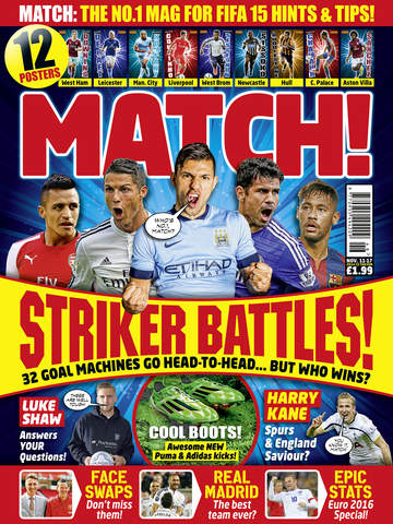 Match! The cool football magazine for young fans screenshot 8