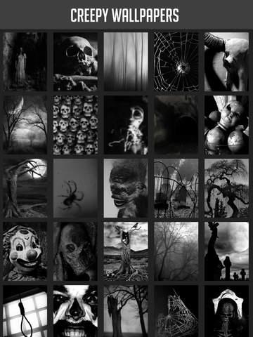 Creepy Wallpapers screenshot 6
