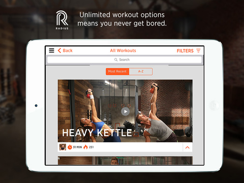Radius Fitness screenshot 8