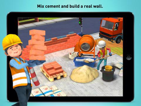 Little Builders - Trucks, Cranes & Digger for Kids screenshot #2