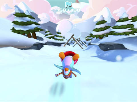 Club Penguin Sled Racer screenshot #5
