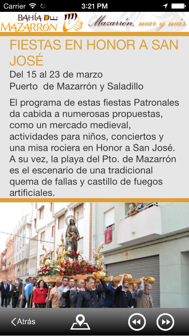 Guía oficial de Mazarrón screenshot 3