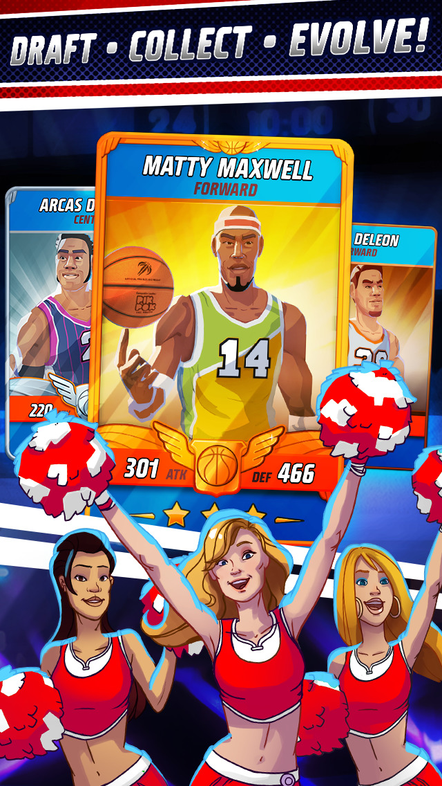 Rival Stars Basketball screenshot #2
