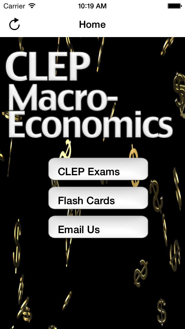 CLEP Macroeconomics Buddy screenshot 1