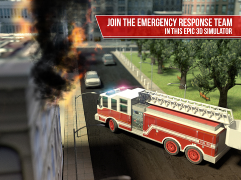 Emergency Simulator PRO - Driving and parking police car, ambulance and fire truck screenshot 6