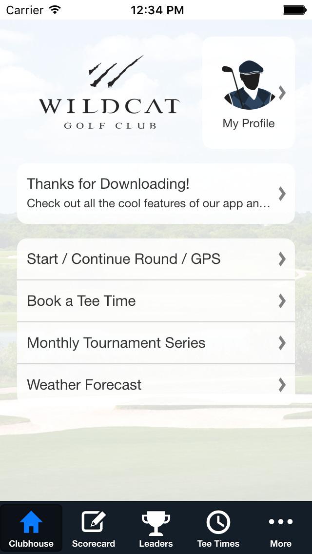 Wildcat Golf Club screenshot 2