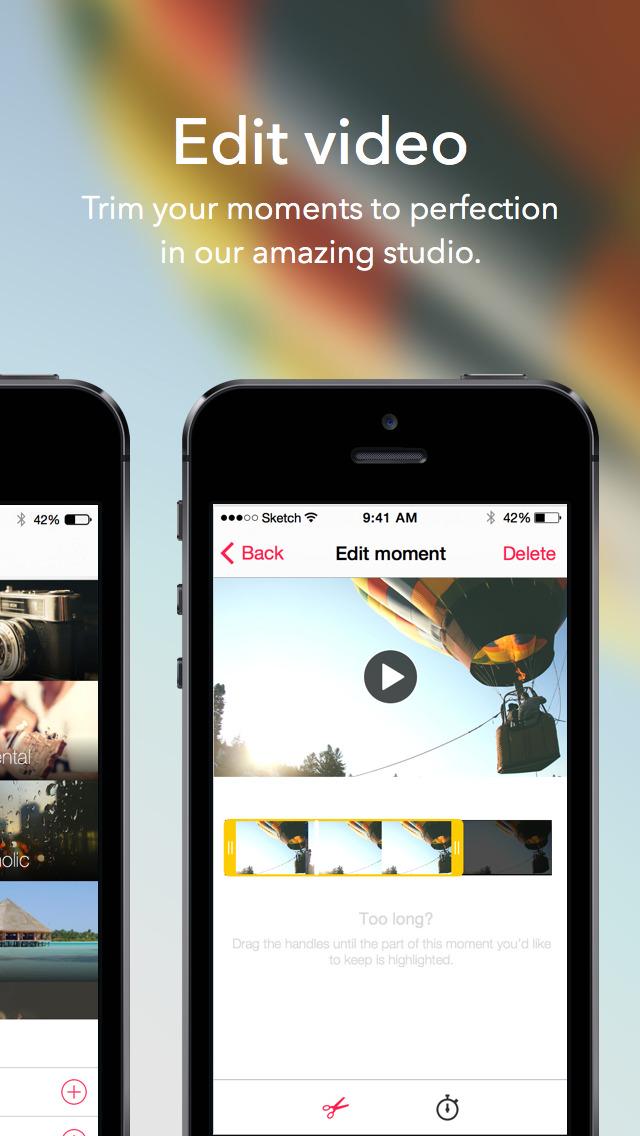 Videofy - Shoot HD video, edit, choose filter, slow motion and free music screenshot 4