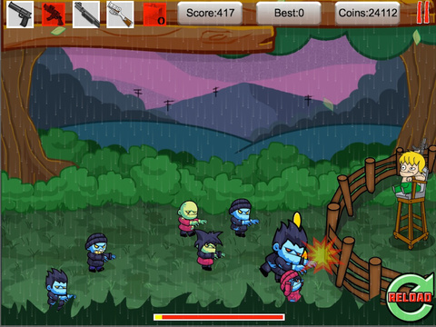 Tiny Zombies The Barricade Free screenshot 10