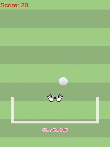 Agility goalkeeper vs fast moving football screenshot 4