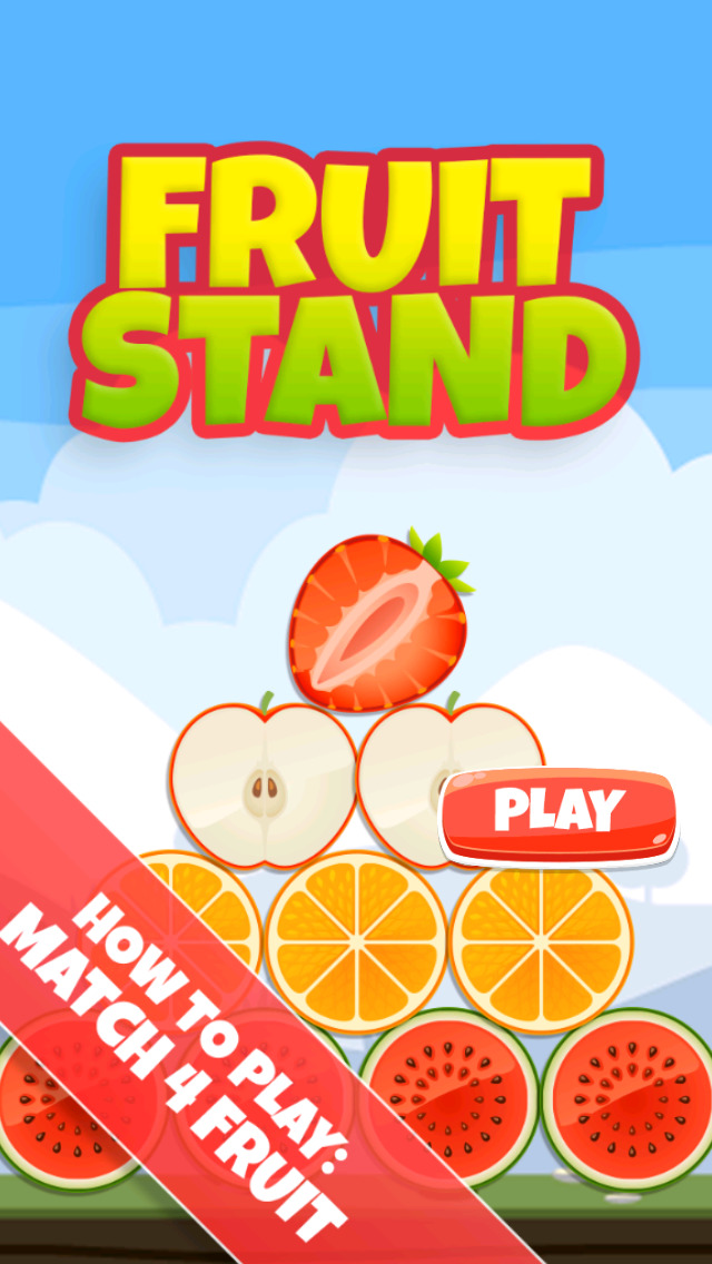 A Fruit Stand: Match 4 Game screenshot 3