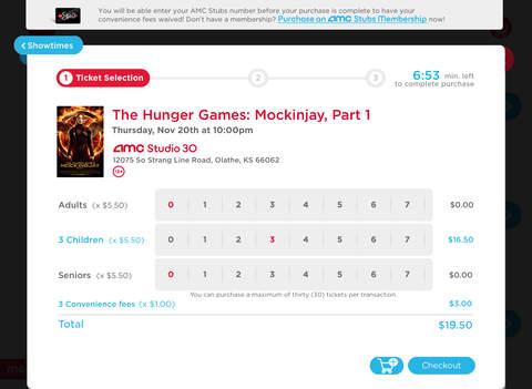 AMC Theatres screenshot 7