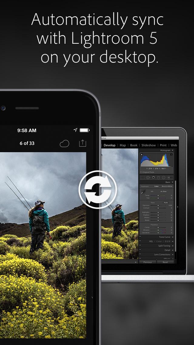 Adobe Lightroom Photo Editor screenshot 1