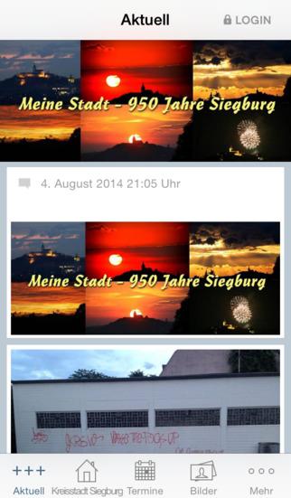Die Siegburger Seite screenshot 1