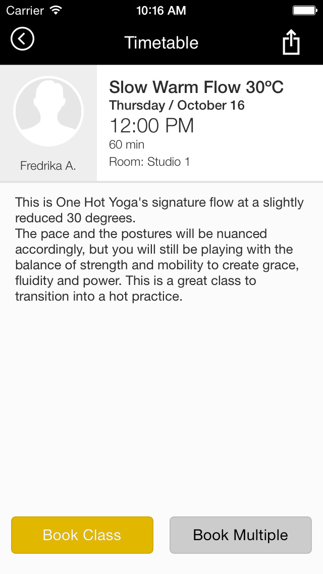 One Hot Yoga screenshot #3