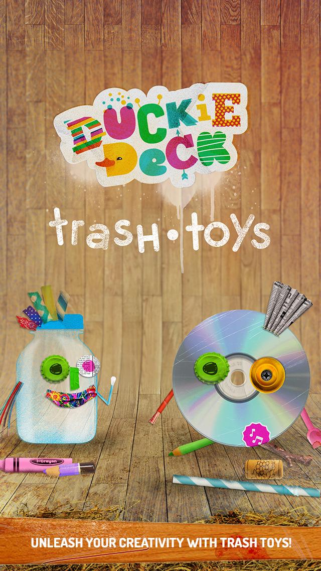 Duckie Deck Trash Toys screenshot 1