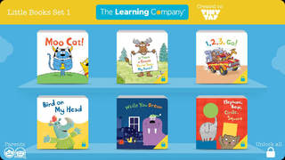 The Learning Company Little Books Set 1: Funny Stories and Bedtime Stories screenshot 1