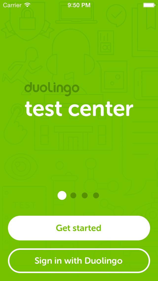 Duolingo English Test screenshot #1