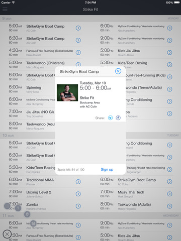 StrikeGym Fitness screenshot 5
