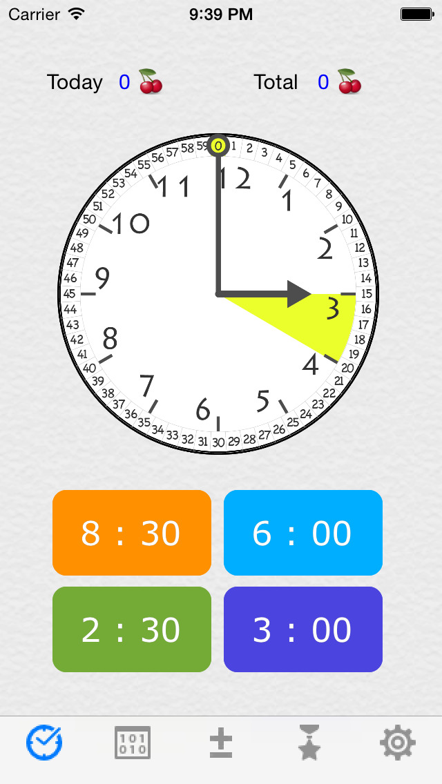 Fan Clock Free(Teaches How to Read The Clock) screenshot 1