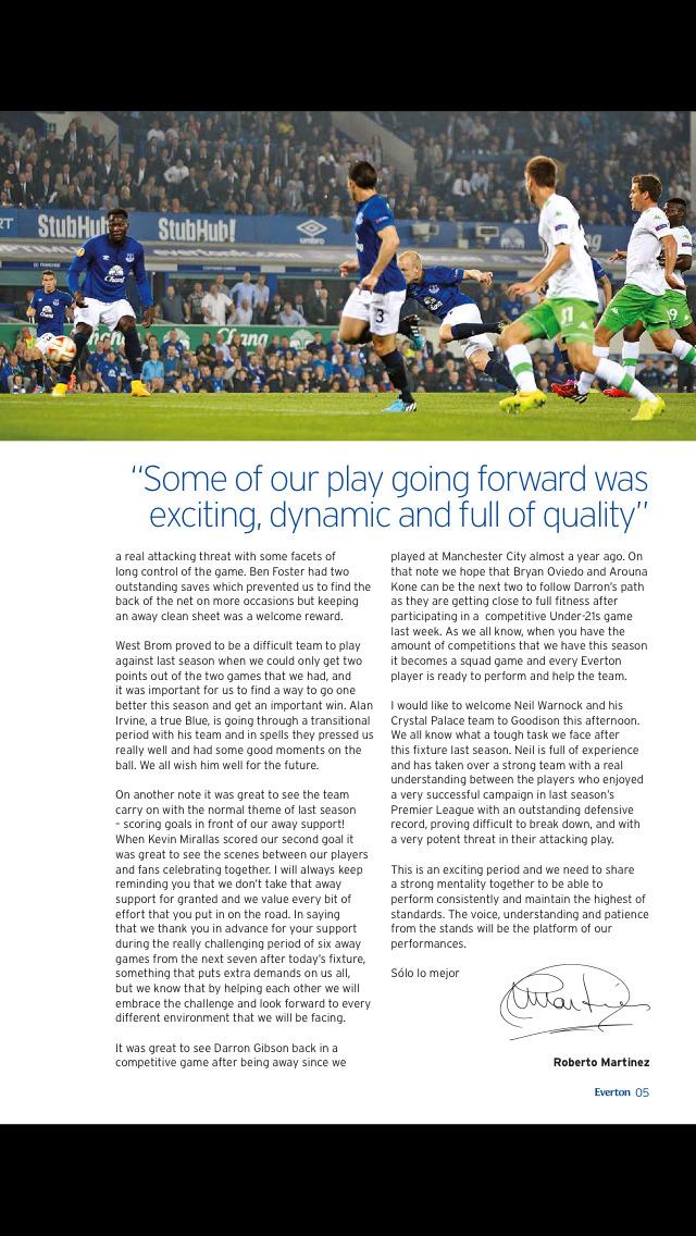 Everton Programmes screenshot 2
