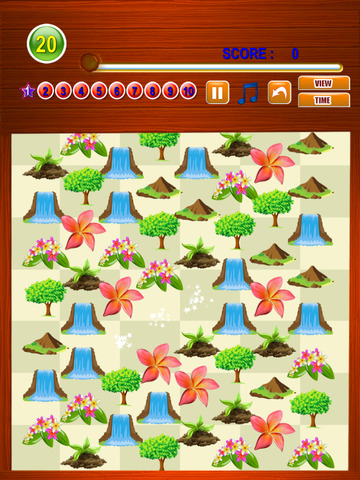 Free Match Game Nature Match Three screenshot 8